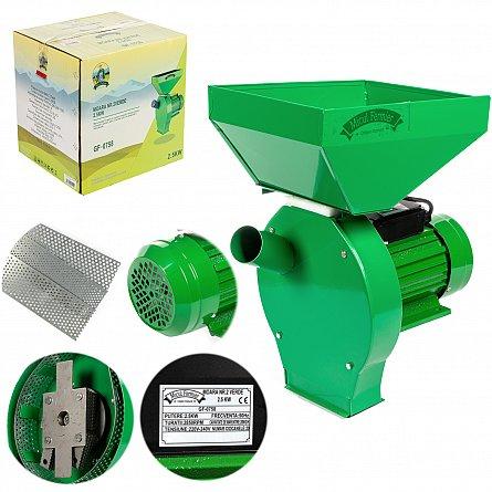 Moara electrica cu ciocanele 2500 W, 200 Kg/h Micul, Fermier1