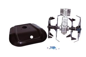 Motocoasa CRAFTEC PRO 5.6CP, 9000 Rpm, 4 accesorii + Cultivator compatibil cu tija 28 mm si 9 caneluri3