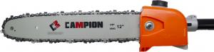 Motocoasa Campion GT-4500 6 CP, cu 5 accesorii si 3 tipuri de taiere, cu 7 accesorii + Accesoriu drujba de taiat la inaltime1