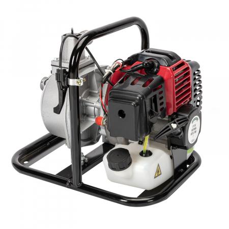 Motopompa pentru Apa, Motor 2 Timpi, 1 TOL, 8m3, 2CP Micul Fermier0