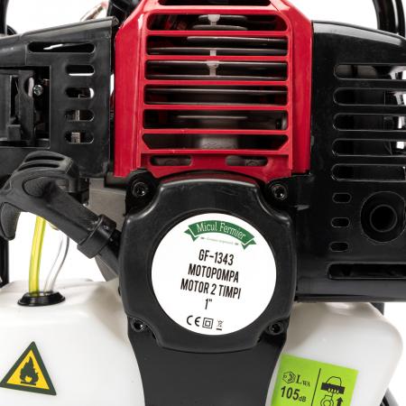 Motopompa pentru Apa, Motor 2 Timpi, 1 TOL, 8m3, 2CP Micul Fermier10