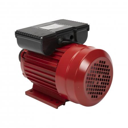Motor electric monofazat 2.5 kw 3000rpm bobinaj 100% cupru TROIAN ROSU2