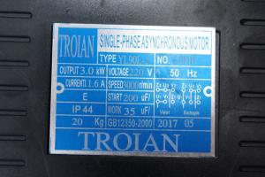 Motor electric monofazat 3.0 kw 3000rpm bobinaj 100% cupru TROIAN ROSU [6]