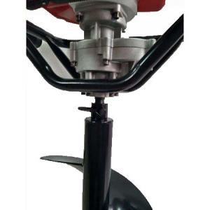 Pachet Motoburghiu TRIGO TECH, 2.5 CP cu reductor + Burghie 100 + 200mm + 300 mm, Foreza pentru pamant7