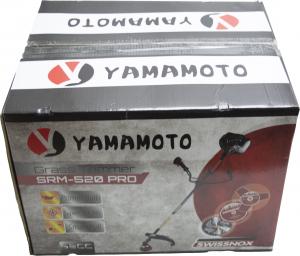 Motocoasa Yamamoto SRM-520 PRO, 6.7 CP, 5000 W, 4 tipuri de taiere + Cultivator 28mm cu 9 caneluri12