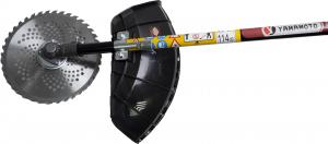 Motocoasa Yamamoto SRM-520 PRO, 6.7 CP, 5000 W, 4 tipuri de taiere + Cultivator 28mm cu 9 caneluri10