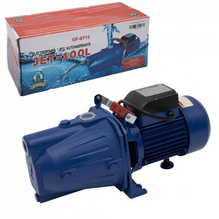 Pompa apa de suprafata Micul Fermier Jet 100L, 1500 W, 3600 l/h0