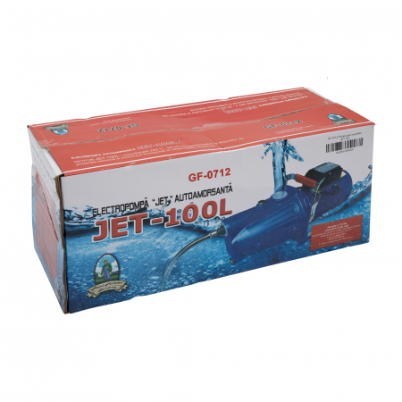 Pompa apa de suprafata Micul Fermier Jet 100L, 1500 W, 3600 l/h3