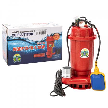 Pompa apa murdara 16m ROSIE cu PLUTITOR, putere 1.1 KW, refulare la 16 M, Micul Fermier0