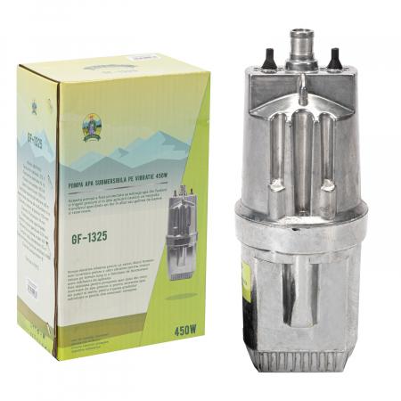 Pompa apa submersibila VMP80 - Sorb Dublu, 450W, 70m, 2100l/Ora, Micul Fermier pe Vibratii [0]