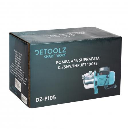 Pompa apa suprafata 0,75kW / 55/min 1CP JET 100SS refulare 45M [5]