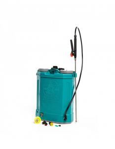 Pompa de stropit electrica Pandora 16 Litri, 5 Bari + regulator presiune, Vermorel cu baterie - acumulator0