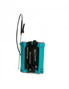 Pompa de stropit electrica Pandora 16 Litri, 5 Bari + regulator presiune, Vermorel cu baterie - acumulator11