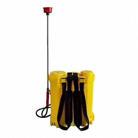 Pompa de stropit electrica Pandora 16 Litri, cu pompa dubla 15Ah, 7,5 Bari, 6 LPM3