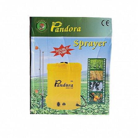 Pompa de stropit electrica Pandora 16 Litri, cu pompa dubla 15Ah, 7,5 Bari, 6 LPM7