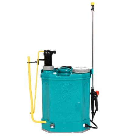 Pompa de stropit electrica si Manuala ( 2 in 1 ) 16 Litri 5 Bar, regulator presiune, Vermorel Pandora ( Herly ) cu baterie acumulator si manuala [5]