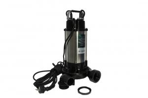 Pompa pentru apa murdara - cu tocator si plutitor 1500W din INOX 23m3/h DETOOLZ4