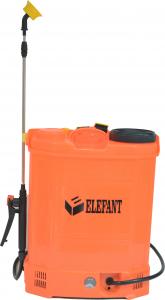 Pompa de stropit Elefant 18 Litri 6 Bari, vermorel cu baterie acumulator 12V/8A + Lance telescopica de 3,5M din inox5
