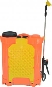 Pompa de stropit Elefant 18 Litri 6 Bari, vermorel cu baterie acumulator 12V/8A + Lance telescopica de 3,5M din inox4