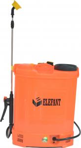 Pompa de stropit Elefant 18 Litri 6 Bari, vermorel cu baterie acumulator 12V/8A + Atomizor electric portabil de 12V 8Ah PANDORA2