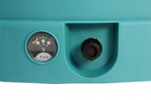 Pompa de stropit electrica Micul Fermier - Pandora 18 Litri, 5 Bari + regulator presiune, vermorel cu baterie acumulator [3]