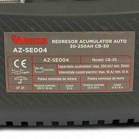 Redresor pentru acumulatori auto 30-250Ah CB-30 ALMAZ AZ-SE0042