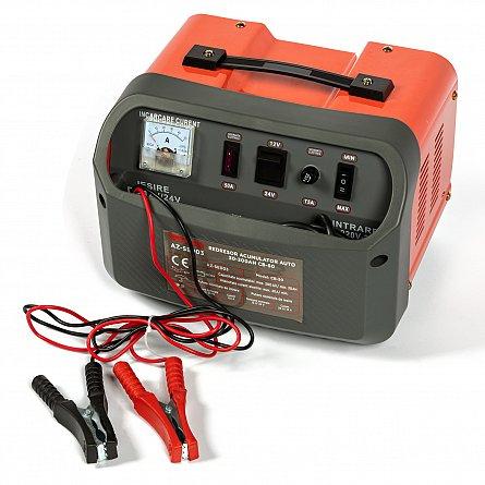 Redresor 12 - 24 V pentru acumulatori auto 30-300ah CB-50 ALMAZ AZ-SE0030