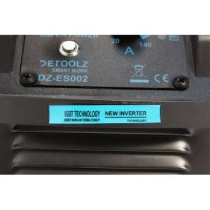 Aparat de sudura MMA-160 DETOOLZ, putere absorbita 8,1 kVA, eficenta 80%, diametru electrod 1,6-5mm3