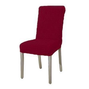 Set 6 huse pentru scaune fara volane-Bordo0