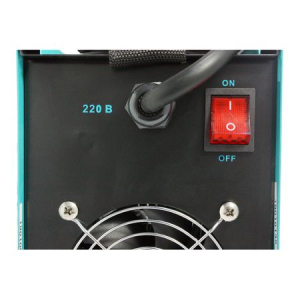 Aparat de sudura MMA-160 DETOOLZ, putere absorbita 8,1 kVA, eficenta 80%, diametru electrod 1,6-5mm2