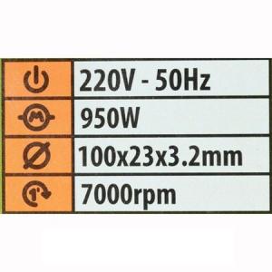 Masina de ascutit lanturi de drujba Procraft SK950, 950W, Ascutitor2