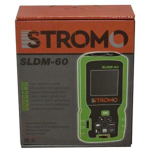 Telemetru laser Stromo, 60m, ruleta laser + 2 baterii2