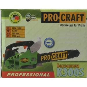 Drujba de constructi ProCraft K300SP+, 1.5CP, Motofierastrau pe benzina,2 timpi, lama 30 cm, accesorii incluse [6]