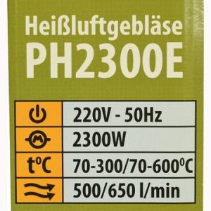 Feon industrial ProCraft PH2300E, 2300W, 500°C1