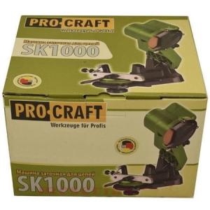 Masina de ascutit lanturi de drujba 1000W ProCraft SK10002