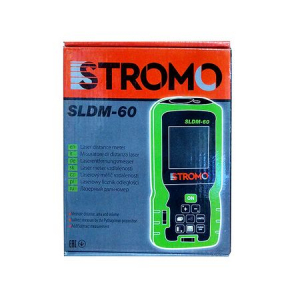 Telemetru laser Stromo, 60m, ruleta laser + 2 baterii4