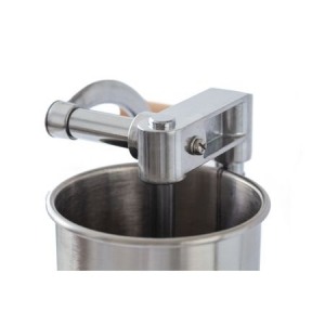 Masina de umplut carnati VERTICAL 4 kg Micul Fermier (YG-2008C) din INOX [4]