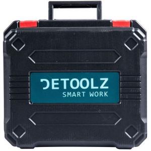Masina de gaurit si insurubat (bormasina) cu 2 acumulatori Detoolz DZ-SE128, 18 V, 1450 RPM, 10 mm mandrina, accesorii incluse2