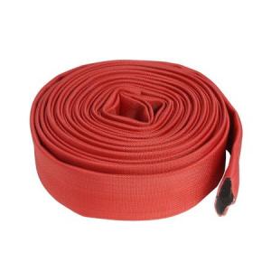 Furtun pompier 2 TOLI-20m 8 bari fara cuple ROSU2