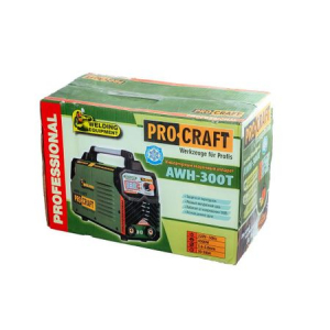 Invertor de sudura PROCRAFT AWH 300T - MMA Germany + Masca Sudura ProCraft SHP90-30 Automata + Dispozitiv magnetic 22.5 kg [10]