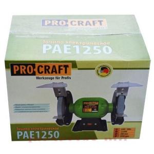 Polizor de banc + 2 Discuri granulatie diferita 1250W, 2950 Rpm, PROCRAFT PAE12503