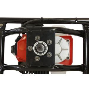 Pachet Motoburghiu TRIGO TECH, 2.5 CP cu reductor + Burghie 100 + 200mm + 300 mm, Foreza pentru pamant4