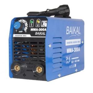 Invertor Aparat Sudura BAIKAL MMA 300A, 300Ah, diametru electrod 1.6 - 4 mm + Masca de sudura automata cu cristale3