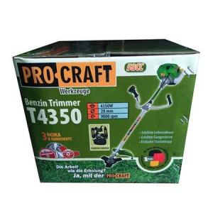 Motocoasa PROCRAFT 4350, 6 CP ,58CC cu 5 accesorii, 4 moduri de taiere + Accesoriu drujba de taiat la inaltime8