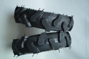 Roata pentru roaba - motocultor - ax 20mm - 2 rulmenti - crampoane - 4.00-8 4PR5