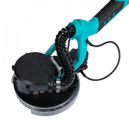 Slefuitor pentru pereti pliabil cu aspirator si LED 750W Ø225mm [13]