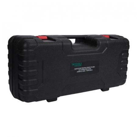 Slefuitor pentru pereti pliabil cu aspirator si LED 750W Ø225mm [9]