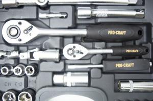 Trusa cu chei tubulare Procraft WS-108 piese6