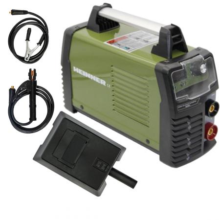 Invertor de sudura Heinner VAS001, 160 A, 220 V, electrod 2.5-4 mm, sistem pornire electric0