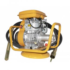 Vibrator pentru beton cu motor pe benzina EY20, 1.8KW, 4000RPM, LANCE 40CM, FURTUN 5.5M0